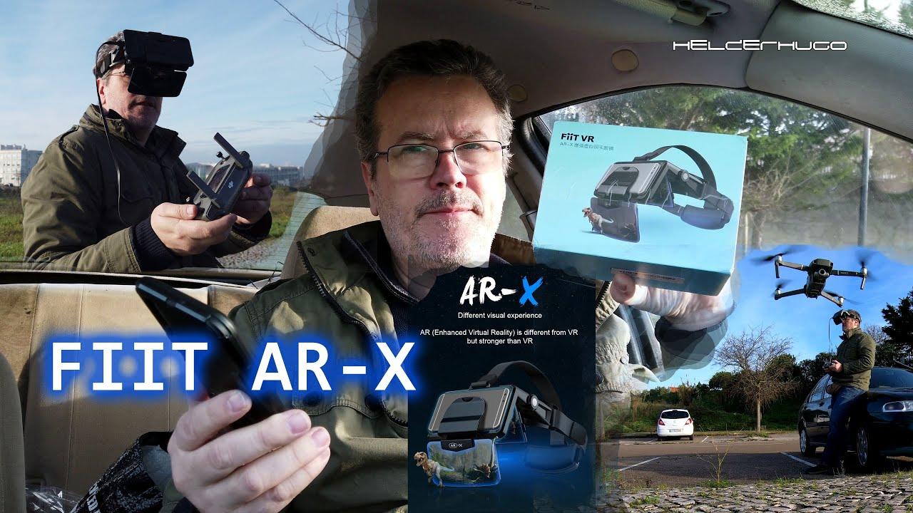 FIIT AR X with Drone Dji Mavic 2 Zoom