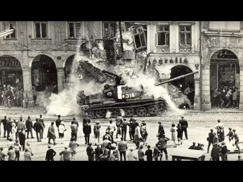 Prague Spring 1968 - Soviet invasion to Czechoslovakia