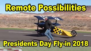 Presidents day fly in 2018 Turbine Engines