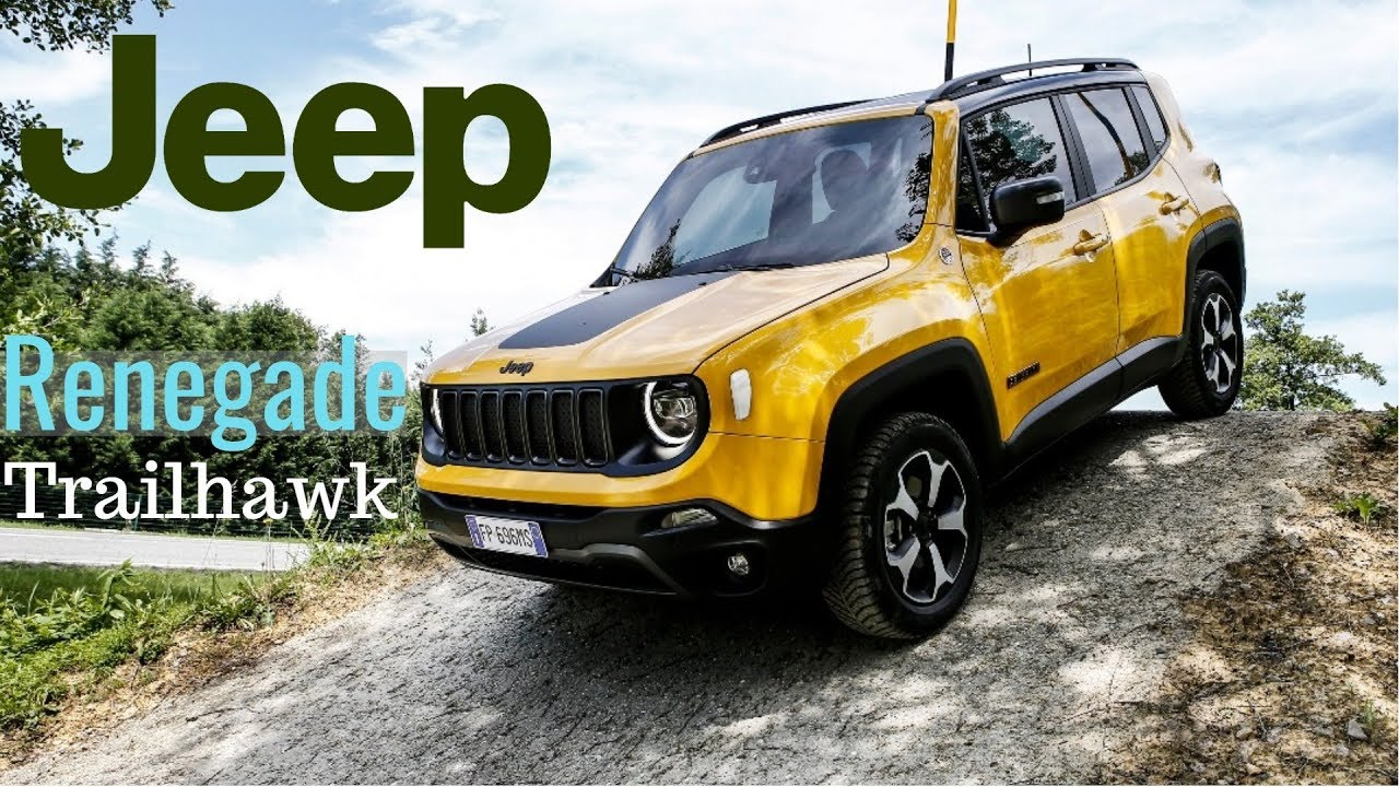 2019 Jeep Renegade Trailhawk Sompact Srossover Youtube