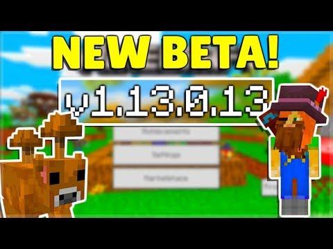 MCPE 1.13.0.13 BETA NEW Changes Added & Minecraft Pocket Edition Java Parity