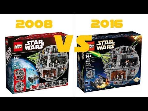 Lego star wars 10188 death star vs 75159 death star comparison youtube - Croiseur interstellaire star wars lego ...