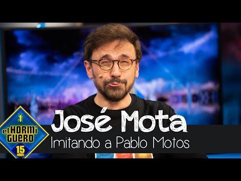 José Mota se atreve a imitar a Pablo Motos - El Hormiguero