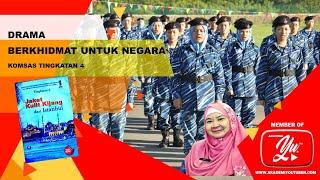 DRAMA BERKHIDMAT UNTUK NEGARA (antologi Jaket Kulit Kijang Dari Istanbul)