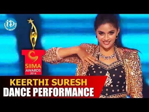 Keerthi Suresh Exclusive Dance Performance @ #SIIMA2014, Malaysia   Telugu