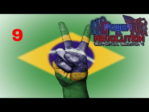 Power and Revolution (Geopolitical Simulator 4) Brazil Part 9 Conquering Paraguay