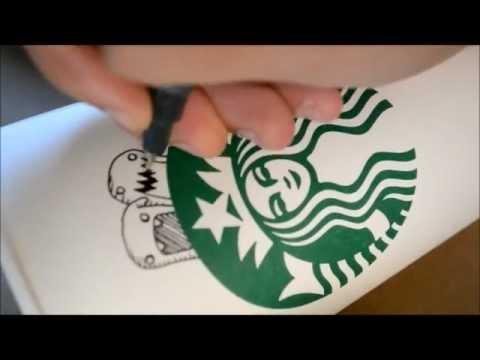 Starbucks Coffee Cup Doodle