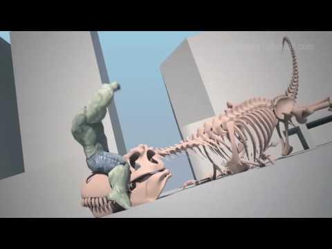 Creature Animation Demoreel 2016, NAV