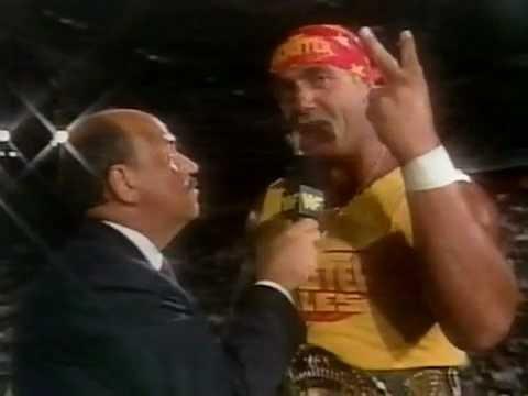 September 14, 1991 WWF Superstars - Hulk Hogan interview about Ric Flair