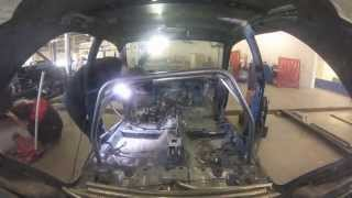 Subaru Impreza Roll Cage Fabrication