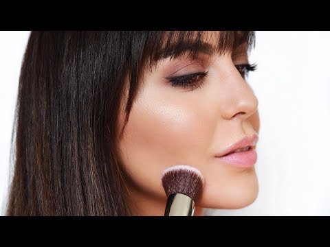 How To Contour a Round Face To Look Thinner  | Sona Gasparian