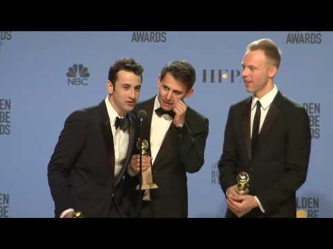 Thumbnail: Justin Horowitz / La La Land Lyricists - Golden Globes - Full Backtage Interview
