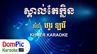 ស្គាល់តែក្លិន ហួរ ឡាវី ភ្លេងសុទ្ធ - Skal Te Klein Hour Lavy - DomPic Karaoke