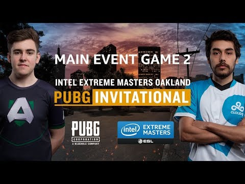 PUBG - GAME 2 - Final - IEM Oakland PUBG Invitational