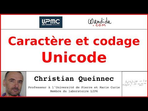 Caractères et codage - Unicode | Christian Queinnec