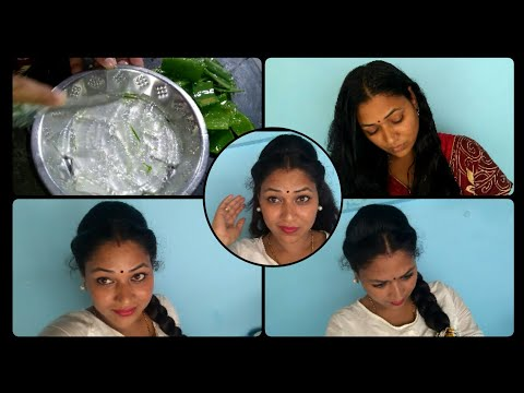 My new hairstyle vlog|Best hair mask for dry,frizzy,ruff hair|Easy hairstyle for parties|kalyani thumbnail