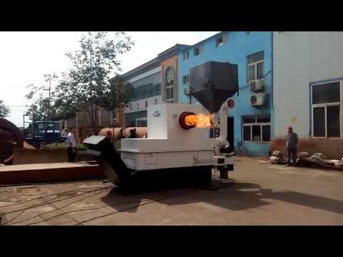 Zhangqiu Yulong Automatic biomass wood pellet burner China
