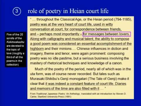Introduction to Classical Japanese Literature (Nov.11th)