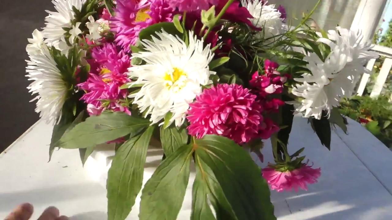 Composition from Flowers в Садовом Стиле Цветы на КЕНЗАНЕ Искусство Флористики