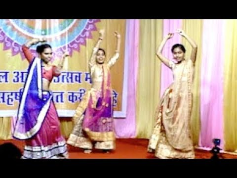 Dance performance on 'Badi Mushkil' - Lajja | Global Arena Ganesh Utsav 2018