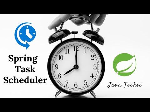 Spring Boot Job scheduler - YouTube