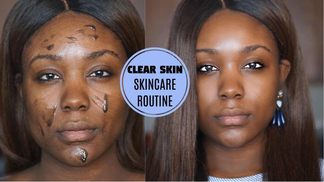 how to clear skin from spots