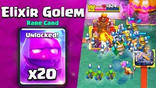 Clash Royale ELIXIR GOLEM CHALLENGE PRO TIPS - EASY MODE!