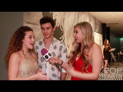 Sofie Dossi and Zak Dossi Interview at Teala Dunn's 21st Birthday Red Carpet