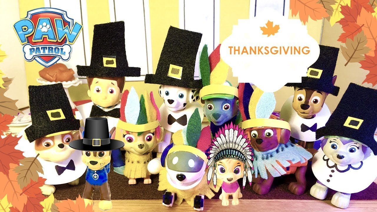 Baby Paw Patrol Thanksgiving Special Full Episodes Toys