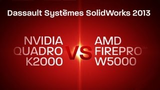 AMD FirePro™ vs. Nvidia Quadro: SolidWorks 2013(For more information, visit http://bit.ly/FirePro_Solidworks These are side by side SPECapc SolidWorks 2013 benchmark performance tests comparing the AMD ..., 2013-07-29T18:42:05.000Z)