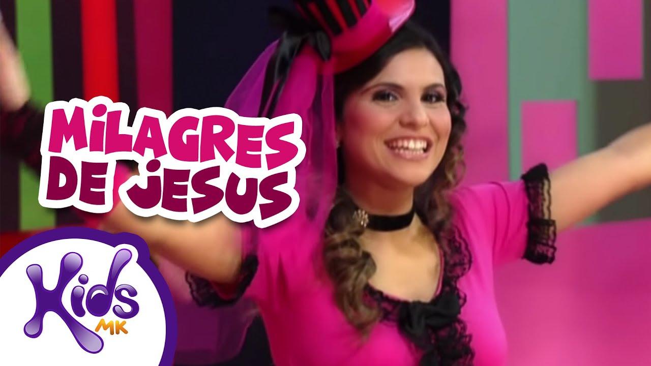 Milagres De Jesus Aline Barros Cia 3 Oficial Youtube