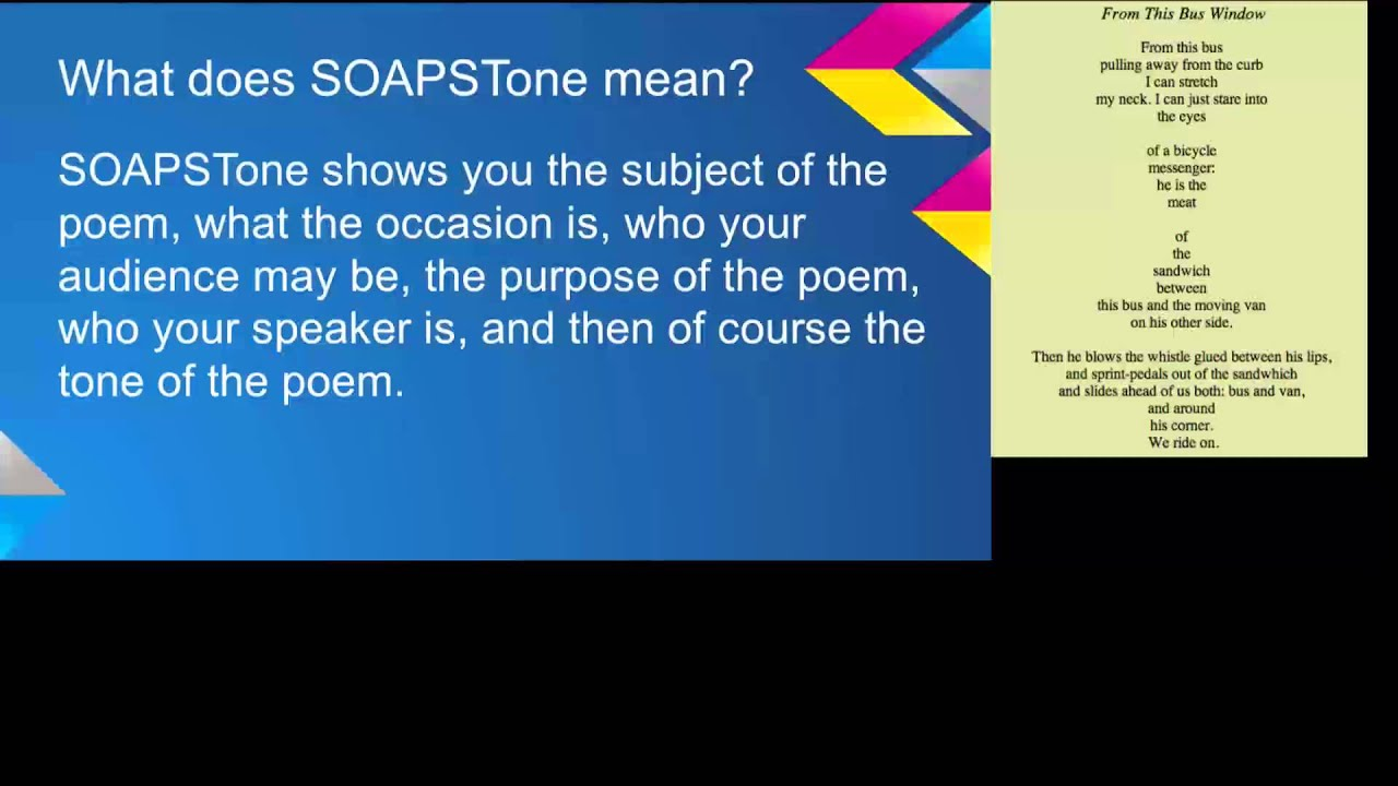 what does occasion mean in soapstone