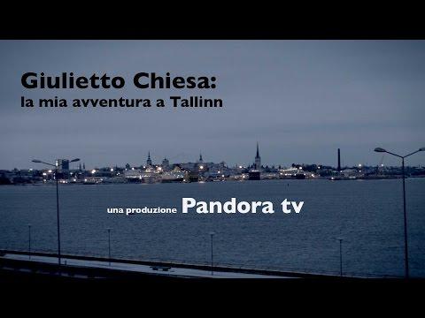 """Giulietto Chiesa: """"la mia avventura a Tallinn"""". Un documentario prodotto da Pandora tv."""