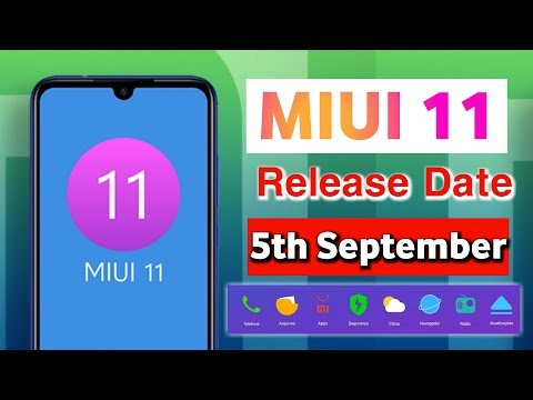 Repeat MIUI 11 Release Date in India Official Confirmed