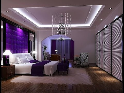 Decorating ideas for girls bedroom purple furniture - YouTube