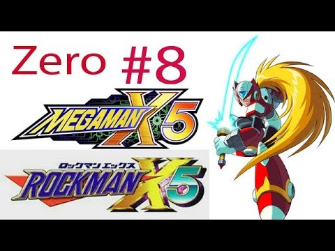 Megaman X5 / Rockman X5 Zero Ep  8 Chapter 7 – Destroy The Time Bombs!-The  Skiver