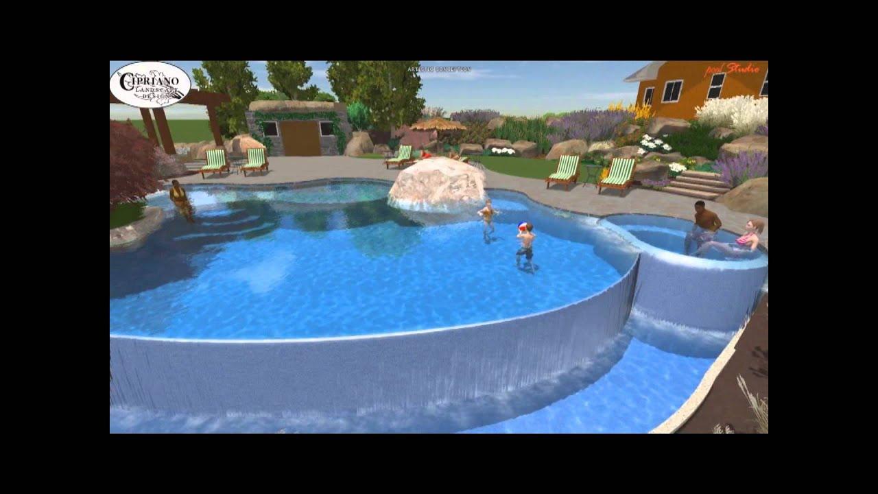 Inground swimming pool design and build northern nj for Pool design nj
