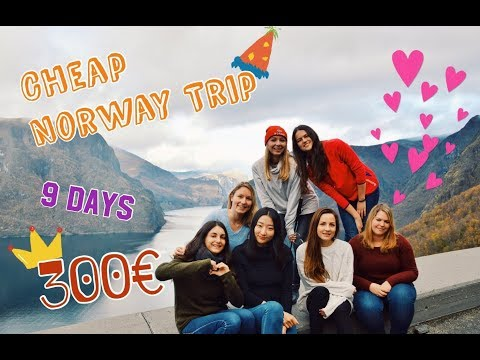 Erasmus/Cheap Norway Trip(How to spend only 300 euro in Norway in 9 days?)