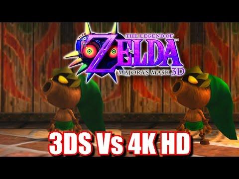 Zelda Majora's Mask 3D HD 4K - Next Gen / Switch / 3DS Graphics Comparison