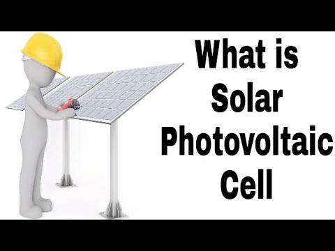 What is Solar Photovoltaic Cell in Hindi. | Solar Cell | | Photovoltaic Cell |