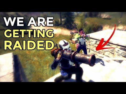 Rust | WE'RE GETTING RAIDED....(RAID DEFENSE) thumbnail