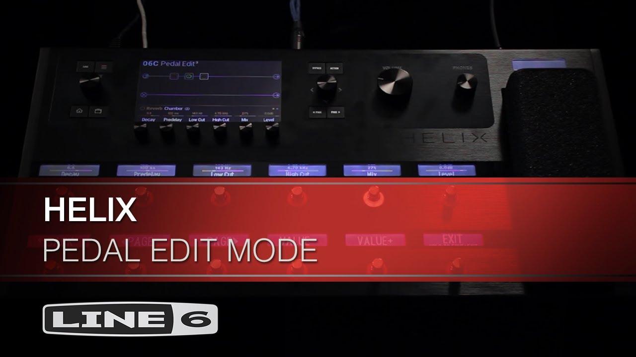 helix pedal edit mode line 6 youtube. Black Bedroom Furniture Sets. Home Design Ideas