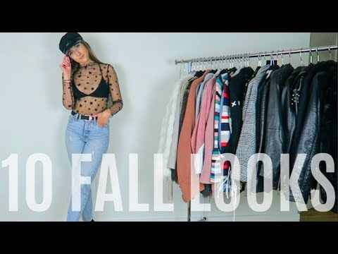 [VIDEO] - FALL OUTFIT IDEAS 2017 (10 AFFORDABLE LOOKS) STEPHANIE LEIGH 2