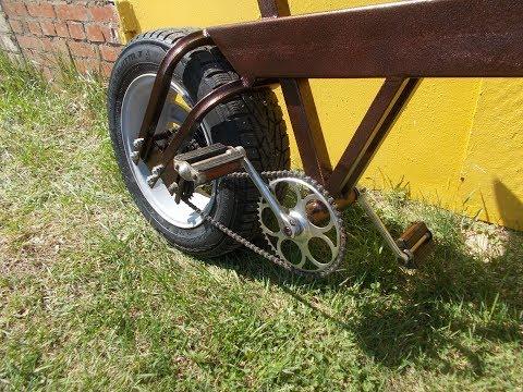 Bike. Велосипед. 1 часть. Самодельный.