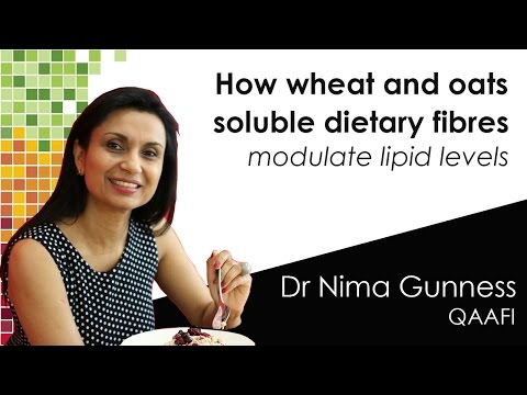 CHALLENGIN CONVENTIONAL WISDOM on how wheat and oats soluble dietary fibres modulate lipid levels