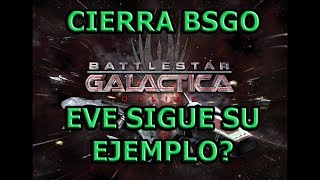 EVE ONLINE EN ESPAÑOL- BATTLESTAR GALACTICA ONLINE CIERRA SEGUIRA EVE?