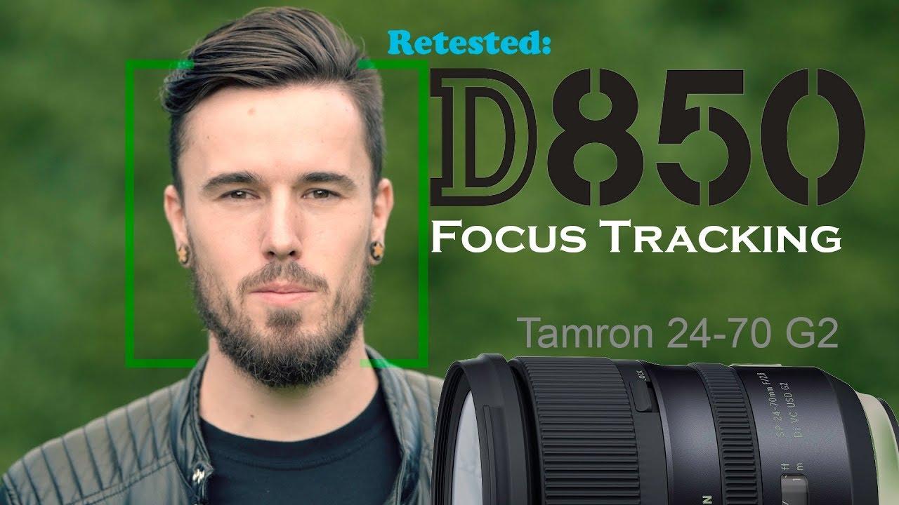 Dont Use Focus Tracking   Nikon D850 4k Test 2