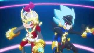 ヒーローバンク OP2 「かせげ!ジャリンコヒーロー with がっぽり仮面女子」