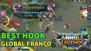 Unstopable Franco, Hook Top Global Bikin Musuh Panas Dingin