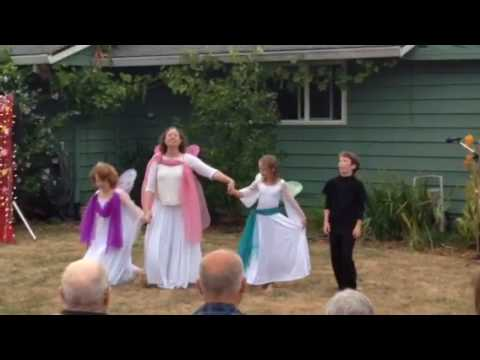 Fairy dance Living Wisdom School Portland dance performance